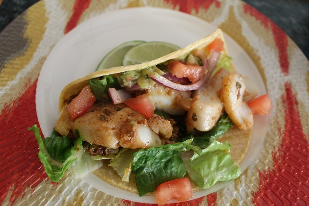 Easy fish tacos recipe passing the relish for Easy fish taco recipe