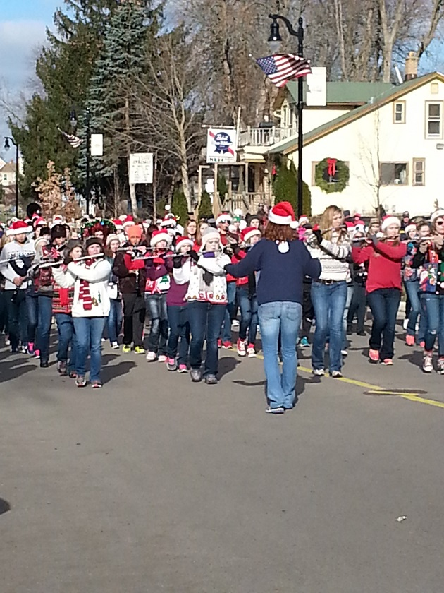 community Christmas parade