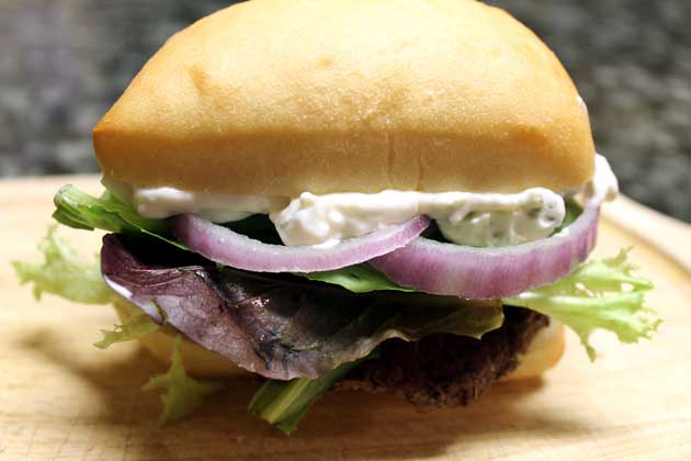 oven roasted tenderloin slider