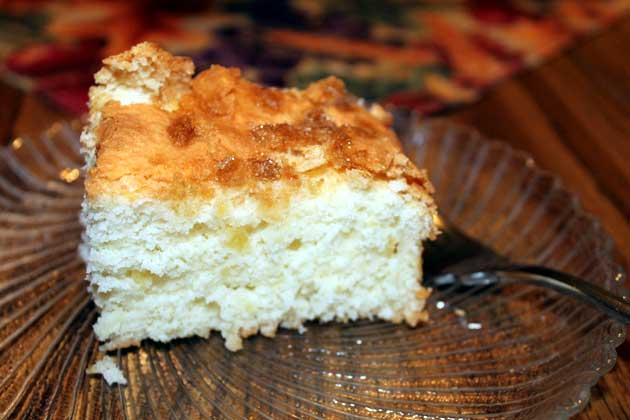 Filipino coconut cake