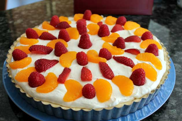 cheesecake fruit tart